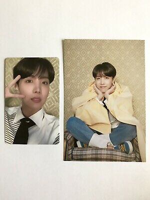 BTS Jhope Photocard Postcard OFFICIAL Map Of The Soul Persona VERSION 3 Hoseok