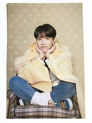 BTS Jhope Photocard Postcard OFFICIAL Map Of The Soul Persona Hoseok - US SELLER