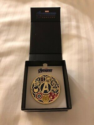 SDCC 2019 Toynk Exclusive Marvel Avengers Deluxe Spinning Enamel Pin (ZZZ)