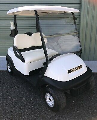 Club Car Precedent Golf car - immaculate condition with NEW batteries.