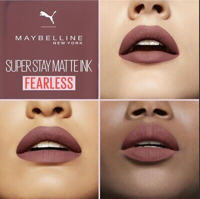 GEMEY MAYBELLINE rouge à lèvres SUPERSTAY MATTE INK N°11 FEARLESS NEUF