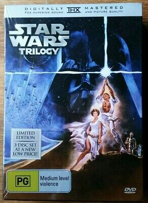 Star Wars Trilogy (Original) - DVD Limited Edition - 3Disc -  Brand New&Sealed