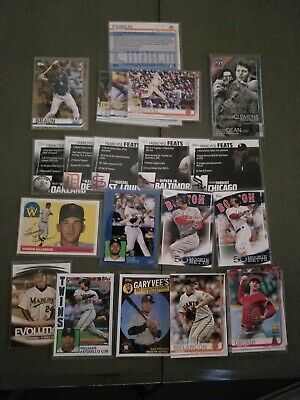 2019 Topps Baseball Series 1 & 2 HUGE Lot of 930 Cards Stars Inserts # Free Ship