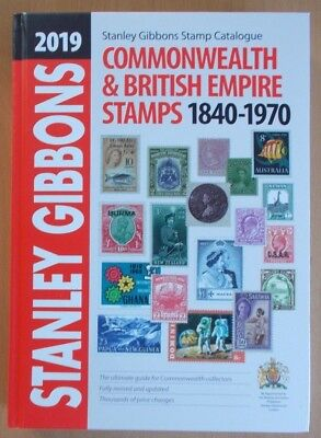 2019 Stanley Gibbons Commonwealth & British Empire Part 1 Stamp Catalogue.