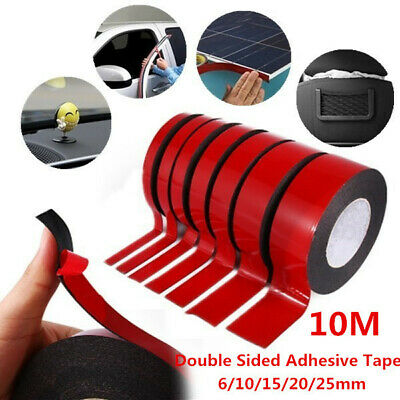 1pc 10M Multifunction Car Double Sided Adhesive Tape Foam Tape Sticker