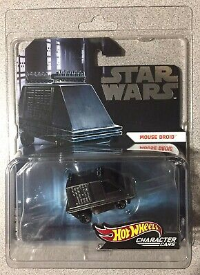2019 SDCC Mattel Hot Wheels Star Wars Mouse Droid Exclusive Limited Edition