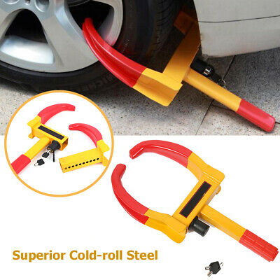 Wheel Lock Clamp Boot Tire Claw Trailer Car Truck Anti-Theft Towing Adjustable