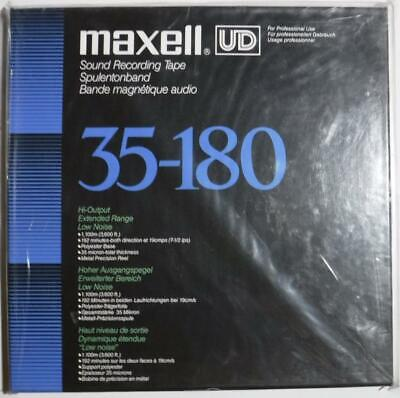 Sealed Maxell UD 35-180 - Blue Box Edition - NOS