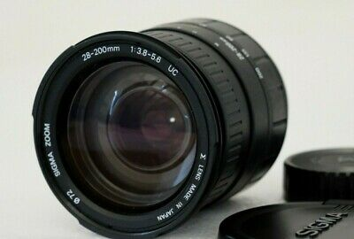 SIGMA 28-200mm F3.8-5.6 UC aspherical - for Sony Alpha / Minolta AF