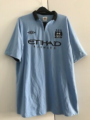 Manchester City 2012-13 Home Vintage Shirt Size Extra Large