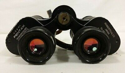 Asahi Pentax Coated Optics 8x30 Prism Binoculars + Casing