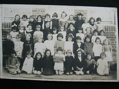 Rare 1924 Westgarth State School Prep Grade Real Photo PCard W Edmonds Brunswick
