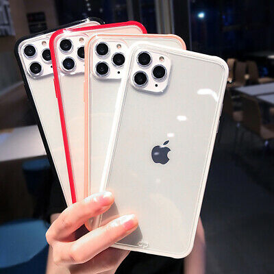 Shockproof Transparent Silicone Phone Case For iPhone X Plus Clear Back Cover