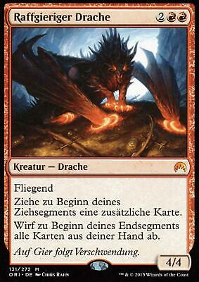 Raffgieriger Drache / Avaricious Dragon | NM | Magic Origins | GER | Magic MTG