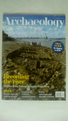 Current Archaeology Magazine May 2019 Issue 350