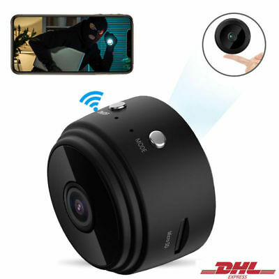 Mini Kamera Wireless WiFi WLAN Überwachungkamera Hidden Spion Camera Spycam DHL