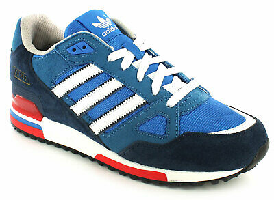 New Mens/Gents Blue/White Adidas Leather Lightweight Running Shoes UK Size
