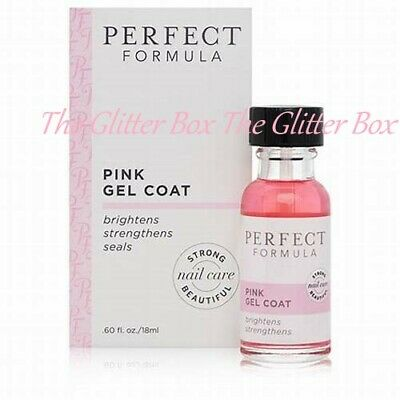 Perfect Formula Pink Gel Coat 18ml ~ BRAND NEW & BOXED