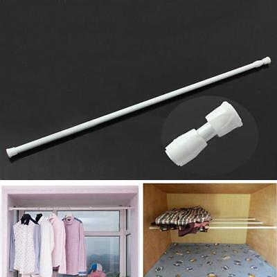 Extendable Telescopic Net Voile Tension Curtain Rail Pole Rod Rods Spring Loaded