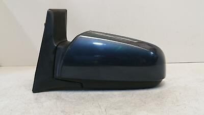 2007 Zafira (B) Passenger Door Mirror Electric Heated In Metro Blue