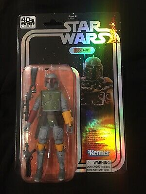 "Hasbro SDCC 2019 Exclusive Star Wars The Black Series Boba Fett 6"" Vintage MOSC"