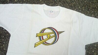 Vtg Boy Scouts of America Explorer T Shirt Sz 14 NOS 60s BSA