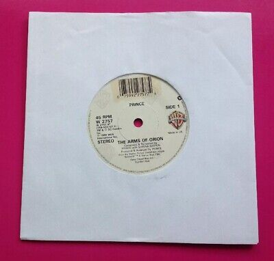 E536, The Arms Of Orion, Prince/Sheena Easton 45rpm Single, Excellent Condition