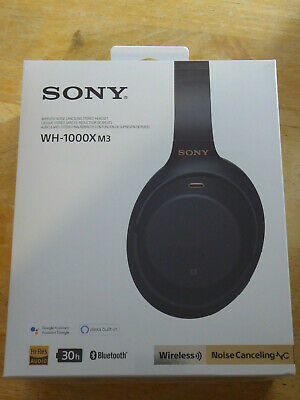 Sony WH-1000XM3 On-Ear Wireless Noise-Canceling Headphones BLACK SEALED