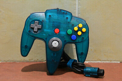 N64 Ice Blue Controller Official Genuine OEM Nintendo 64 Tight Stick