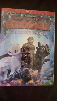 How to Train Your Dragon 3: The Hidden World DVD. New with free postage.