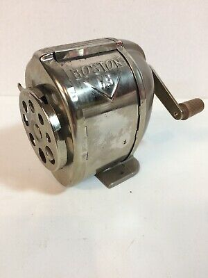 Vintage Boston KS Pencil Sharpener Hunt Manufacturing Made in U.S.A.