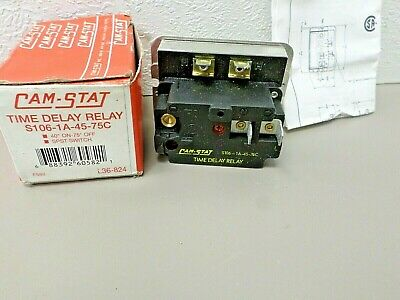 CAM-STAT Time Delay Relay S106-1A-45-75C SPST