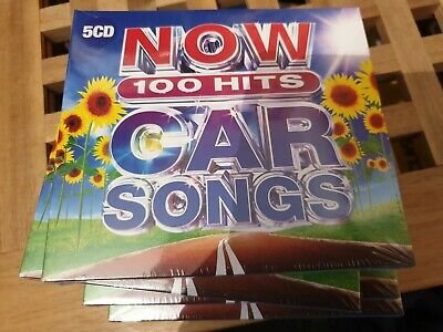 Now 100 Hits Car Songs 5 Cd Set New And Sealed