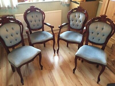 Regency Style Mahogany Coloured Chairs