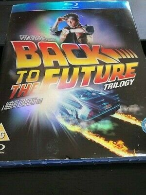 Back to the Future: The Complete Trilogy (Blu-ray Disc, 3-Disc Set) Slipcover