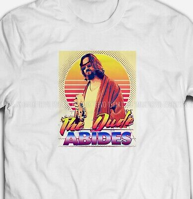 Mens or Womens Big Lebowski inspired The Dude 100% COTTON S-5XL SIZE T-shirt Tee