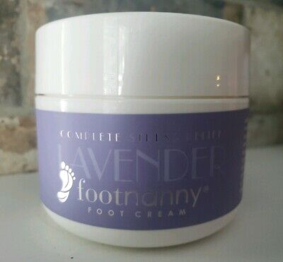 NEW Footnanny LAVENDER Foot Cream Lotion - 8 oz - Sealed - Foot Nanny