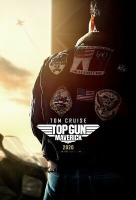 "Top Gun Maverick Poster Tom Cruise Movie 2020 Comic Con Print Silk 24x36"" 27x40"""