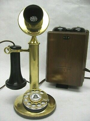 Western Electric Candlestick Walnut Subset Restored Working