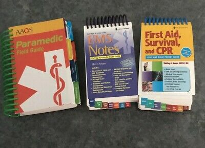 Paramedic Guide Books- Lot Of Three