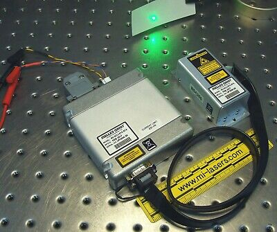 NEW MELLES GRIOT 85-GCJ-015-074 COMPACT OEM DPSS LASER SYSTEM 15mW 532nm