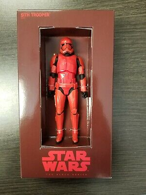 SDCC 2019 Exclusive Hasbro Star Wars Black Series Red Sith Trooper IN HAND