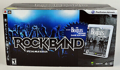 The Beatles: Rock Band Limited Edition Sony PlayStation 3 PS3 Rockband BRAND NEW