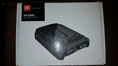JBL GX-A3001 415 Watt Mono Car Amplifier for Subwoofer Bass Speaker Variable EQ