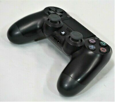 Genuine Sony Playstation 4 PS4 Dual Shock Wireless Controller Black - Nice!