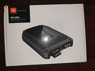 JBL GX-A604 4-channel car amp amplifier — 60 watts RMS x 4