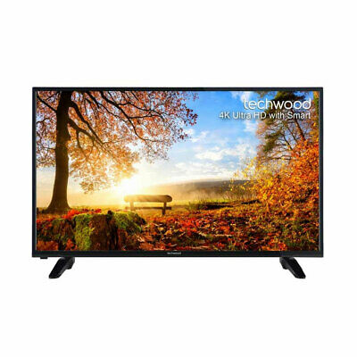 Techwood 50AO7USB 50 Inch Smart Full HD LED TV Freeview Play Built-in WiFi