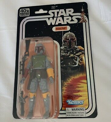 Star Wars Black Series 40th Boba Fett Toy Colors SDCC 2019 MOSC MOC New Sealed