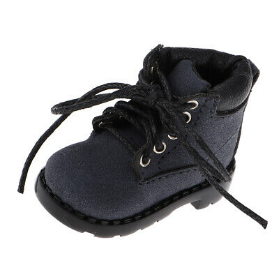 12/' DOLL SHOES  BLACK WITCH BOOTS FOR DOLLS W// BIG FEET