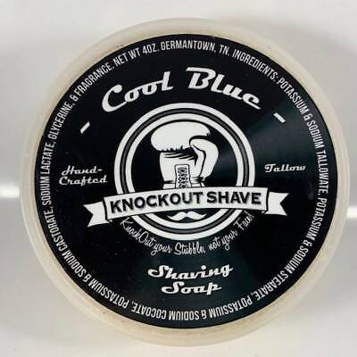 Cool Blue Shaving Soap - by Knockout Shave (Pre-Owned)